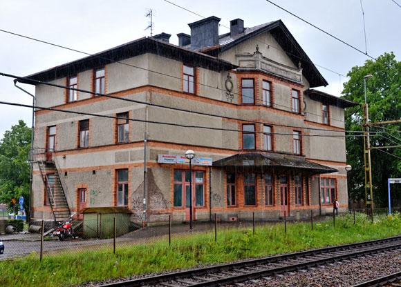 Järnvägshotellet i Flen